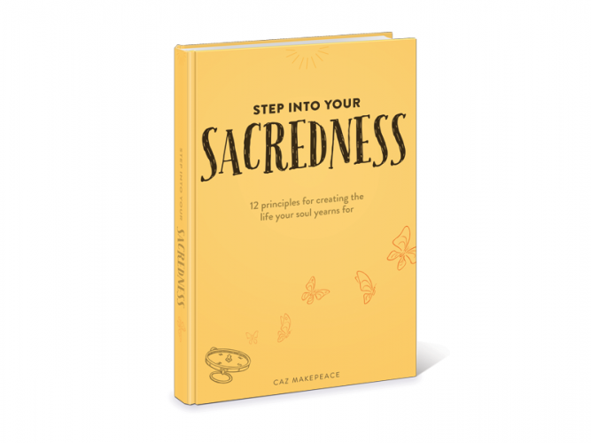 Step into your Sacredness banner