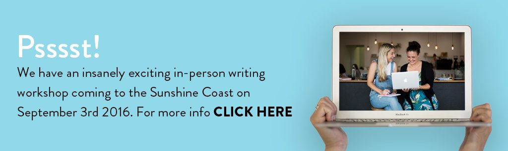 Write Like a MOFO copywriting workshop